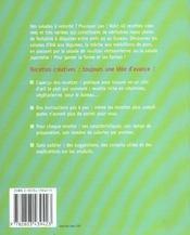 Recettes Creatives : Salades Xxl - 4ème de couverture - Format classique