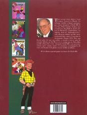 Chick Bill ; intégrale t.15 - 4ème de couverture - Format classique