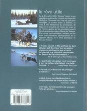 L'odyssée sibérienne ; le rêve utile - 4ème de couverture - Format classique