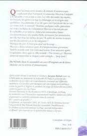 Du Nitrate Dans Le Cassoulet ; D'Engrais Ou De Force - 4ème de couverture - Format classique