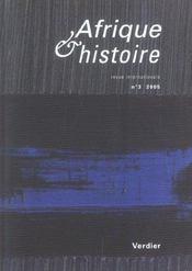AFRIQUE ET HISTOIRE N.3 (édition 2005) - Intérieur - Format classique