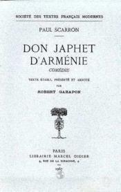 Don japhet d'armenie - Couverture - Format classique