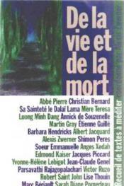 De La Vie Et De La Mort; Recueil De Textes A Mediter - Couverture - Format classique