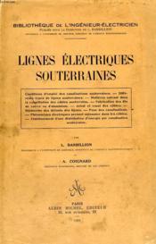 Lignes Electriques Souterraines - Couverture - Format classique