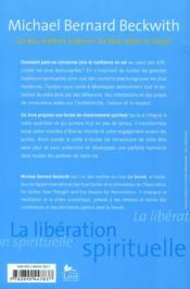 La libération spirituelle - 4ème de couverture - Format classique