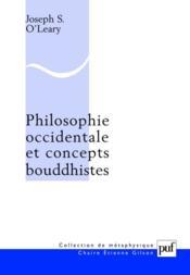 Philosophie occidentale et concepts bouddhistes - Couverture - Format classique