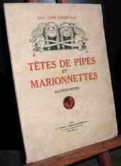 Tetes De Pipes Et Marionnettes, Sonnets - Couverture - Format classique