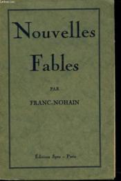 Nouvelles Fables - Couverture - Format classique