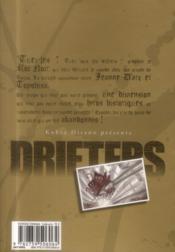 Drifters T.3 - 4ème de couverture - Format classique