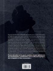Paris criminel - 4ème de couverture - Format classique