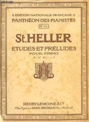 Etudes Et Preludes Pour Piano Op. 47 N°1 Et 2. - Couverture - Format classique