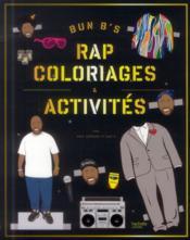 Rap ; coloriages et activités - Couverture - Format classique