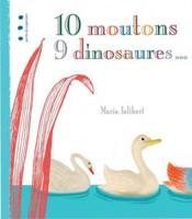 10 moutons 9 dinosaures... - Couverture - Format classique