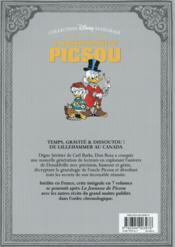 La grande épopée de Picsou ; INTEGRALE VOL.5 ; le trésor de Crésus et autres histoires - 4ème de couverture - Format classique