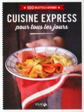 Cuisine express pour tous les jours - Couverture - Format classique
