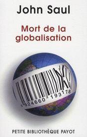La mort de la globalisation - Intérieur - Format classique