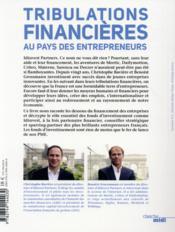 Tribulations financières au pays des entrepreneurs - 4ème de couverture - Format classique