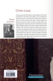 Chien-loup - 4ème de couverture - Format classique
