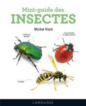 Mini-guide des insectes - Couverture - Format classique