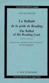 La ballade de la geole de reading - Couverture - Format classique