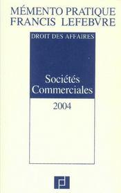 Memento societes commerciales - Intérieur - Format classique