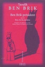 Taoufik ben brik president ; tunis city 2004 - Intérieur - Format classique