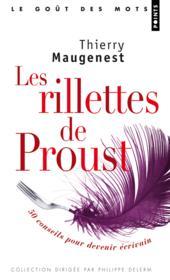 Les rillettes de Proust ; 50 conseils - Couverture - Format classique