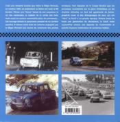 Renault 8 gordini ; le rêve bleu - 4ème de couverture - Format classique