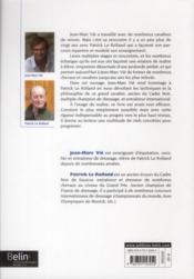Les principes de dressage de Patrick le Rolland - 4ème de couverture - Format classique