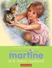 Je commence à lire avec Martine T.26 ; Martine et le chaton vagabond - Couverture - Format classique