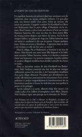 Blanche-Neige doit mourir - 4ème de couverture - Format classique