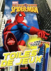 Spider sense , spider-man ; toiles de jeux ; avec une toise - Couverture - Format classique