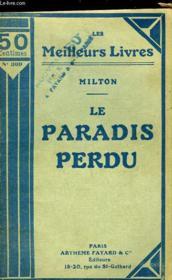 Le Paradis Perdu - Couverture - Format classique