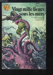 Vingt mille lieues sous les mers. - Couverture - Format classique