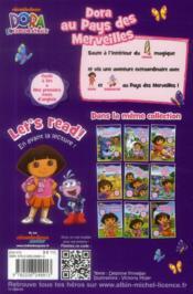 Dora au pays des merveilles - 4ème de couverture - Format classique