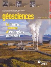 N*16 La Terre Source D'Energies Durable - Couverture - Format classique