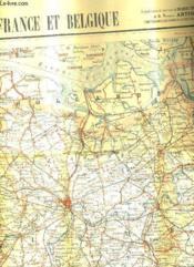 Une Carte Routiere Pour Automobilistes Et Cyclistes- Nord De La France Et Belgique En Couleurs D'Environ 70x88 Cm - Echelle 1/250 000 . - Couverture - Format classique