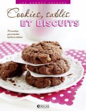 Cookies, sablés et biscuits - Couverture - Format classique