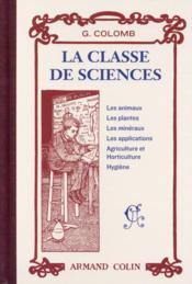La classe de sciences - Couverture - Format classique