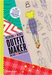 Fashion rebel outfit maker - Couverture - Format classique