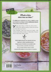 Que faire avec de l'huile d'olive ? - 4ème de couverture - Format classique