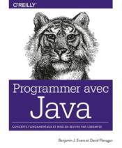 Programmer avec Java - Couverture - Format classique