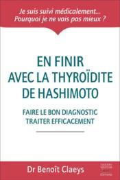 En finir avec la thyroïdite de Hashimoto - Couverture - Format classique