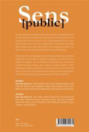 Avec simone de beauvoir - volume 2 : liberte & radicalite - 4ème de couverture - Format classique