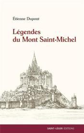 Légendes du Mont Saint-Michel - Couverture - Format classique