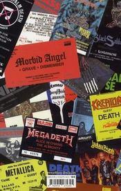 La culture hard rock ; imaginaires et pratiques en France - 4ème de couverture - Format classique