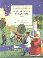 Le jeune prince et la verite - Intérieur - Format classique
