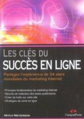 Les cles du succes en ligne - Couverture - Format classique