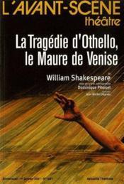 La tragédie d'Othello, le maure de Venise - Couverture - Format classique