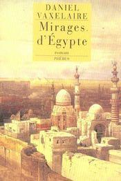 Mirages D Egypte - Intérieur - Format classique